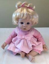"""Madame Alexander Baby Doll 18"""" Tall Feels Looks Real Baby Doll in excellent cond"""