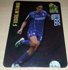CARD CALCIATORI PANINI 2005-06 FIORENTINA TONI CALCIO FOOTBALL SOCCER ALBUM