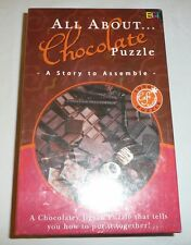 NEW SEALED - All About Chocolate Jigsaw Puzzle - 1000 Pieces - Candy Lovers Cafe