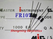 100PCS Fast recovery rectifier diodes FR107 1A 1000V