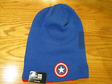 Captain America New Era Winter Ski Hat 2-1 Flip Marvel Comics Brand New 0101
