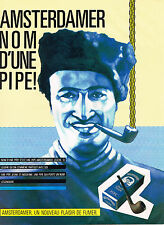 PUBLICITE  1983   AMSTERDAMER  tabac pour pipe