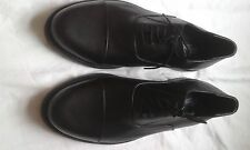 MENS CHUMS BLACK LACE UP SHOES SIZE 11