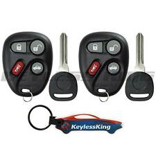 2 Remote Key Fob Set for 2001 2002 2003 2004 2005 Pontiac Grand Am