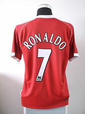 Cristiano RONALDO #7 Manchester United Home Football Shirt Jersey 2006/07 (L)