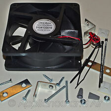 Dometic 3108705.744 Ventilator Fan Kit for Two Door Refrigerator RV +Instruction
