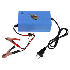 12V 6A Motorcycle Car Boat Marine RV Maintainer Battery Automatic Charger NEW
