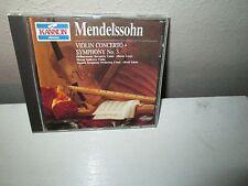 MENDELSSOHN - VIOLIN CONCERTO NO. 3 rare Classical cd Alberto Lizzio SPITOVA