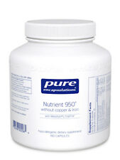 Pure Encapsulations Nutrient 950 without Copper and Iron 180 Caps  - Exp:01/2018