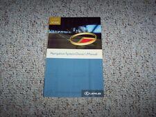 2007 Lexus SC430 SC 430 Navigation System Owner User Manual Guide Book