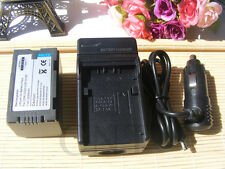 Battery+charger for Panasonic CGR-D220 NV-DS27B NV-DS27 NV-DS4 Camcorder