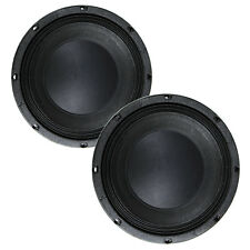 """Pair Eminence Kappa Pro-10LF 10"""" 8Ohm Professional Subwoofer Replacemnt Speaker"""