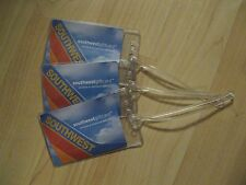 Southwest Airlines Luggage Tags - WN LUV Boeing 737 Tail Fin Suitcase Name Tag 3