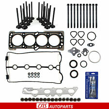 06-08 Chevrolet Aveo Aveo5 Head Gasket Set Bolts Intake Exhaust Valves Silicone