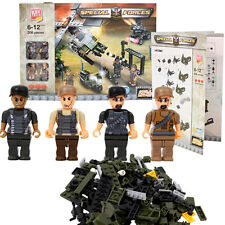 208pcs Block Tech Special Forces Building Bricks Blocks Toy Set Minifigures Kids