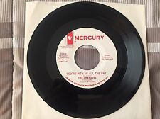 "CHARADES ""You're with Me All the Way' / 'Power of Love"" Promo MERCURY 72414 NM-"