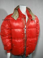 NWT Polo RALPH LAUREN Detachable Hood Quilted Down Jacket Red size XL