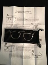 NEW XC Prescription Insert Rx Carrier Safety Glasses Insert