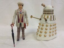 Doctor Who the Seventh Imperial White Dalek Remembrance Action Figure Set gold