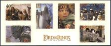 NZ 2002 Lord of the Rings/Film/Cinema/Hobbits/Gandalf/Horses 6v s/a stp (s2703)