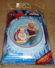 Brand New Spider-Man Junior Ride-In Float Seat Kids Inflatable Pool Raft w/ Kit