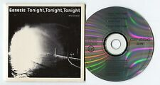 "Genesis Maxi-CD TONIGHT TONIGHT TONIGHT © 1987 4-track INVISIBLE TOUCH 12"" Mixes"