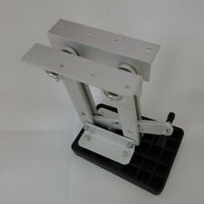 New Heavy Duty Aluminum Outboard 2 Stroke Kicker Motor Bracket 7.5hp-20hp