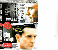 Born To Win-1971/The Swap-1979-Robert DeNiro-2 Movie-DVD