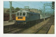 Manchester Pullman at Euston Locomotive E3122 Old Postcard 052a