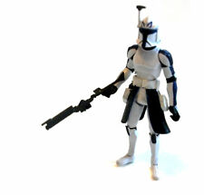 "STAR WARS  CLONETROOPER Commander Rex 3.75"" figure Removable Helmet, rebels"