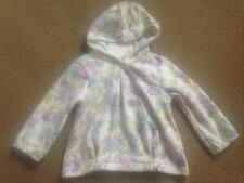 BNWT NEXT Floral Fleece Hooded Jumper Hoody  12-18 Months