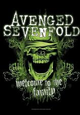 "AVENGED SEVENFOLD FLAGGE / FAHNE ""WELCOME TO THE PARTY"" POSTERFLAGGE"
