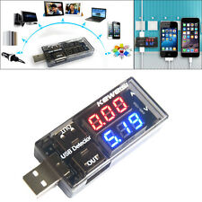 USB Charger Current Voltage Charging Detector Battery Tester Voltmeter Ammeter