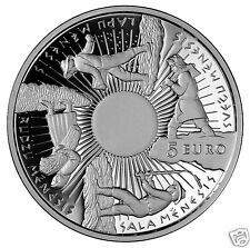 5 EURO 2014 Latvia silver coin the year round sun feast  Christmas time Seasons