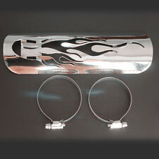 Exhaust Muffler Pipe Heat Shield Cover Heel Guard Dyna Heritage Softail Iron 833