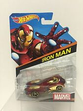 Hot Wheels Marvel # 1 Iron Man Die-cast BDM74