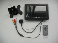 "7"" inch Color TFT LCD CCTV Monitor with VGA BNC AV input ports for Car PC DVR"