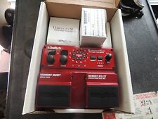 DIGITECH HM-2 HARMONY MAN INTELLIGENT PITCH SHIFTER PEDAL w/ADAPTER & BOX