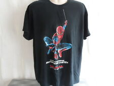 Gildan The Amazing Spiderman Black XL Movie Promo Short Sleeve Tee Shirt