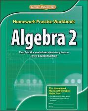 Merrill Algebra 2: Algebra 2, Homework Practice Workbook by McGraw-Hill Staff...