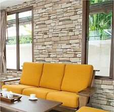 Categories Natural Stacked Stone Brick Pattern Vinyl Contact Paper Self-adhesive