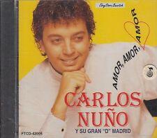 CARLOS NUNO Y SU GRAN D MADRID CD New Nuevo sealed