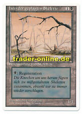 Misprint heer der geplagten Skelette swamp picture Magic Revised german original