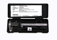 "6""/150mm Digital LCD Vernier Caliper Stainless Steel Electronic Micrometer Gauge"