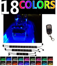 Boat Marine Interior LED Strip Flexible Light Kit -RGB Color Change + Controller