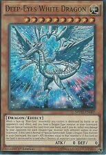 3 X YU-GI-OH ULTRA RARE: DEEP-EYES WHITE DRAGON - MVP1-EN005 - 1st EDITION