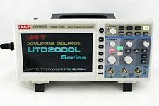 UNI-T UTD2102CEX 100MHZ Digital Storage Oscilloscope 1G Sa/s USB many languages