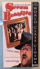 giancarlo giannini   SEVEN BEAUTIES  VHS VIDEOTAPE