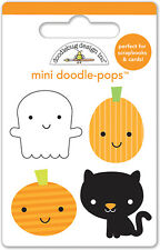 Doodlebug Design Ghouls & Goodies Doodle-Pops Stickers Mini Punkins and Friends