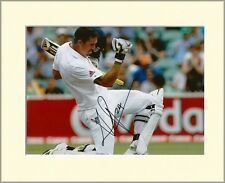 KEVIN PIETERSEN ENGLAND CRICKET PP 10X8 MOUNTED SIGNED AUTOGRAPH PHOTO